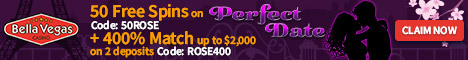 Bella Vegas Casino on Gambling City - EXCLUSIVE BONUS - 10 Free Spins
